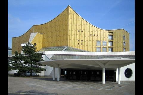 Scharoun's Berlin Philharmonie